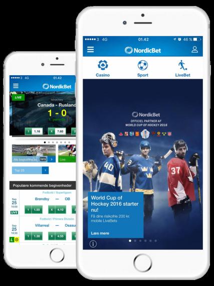 Nordicbet app bonus