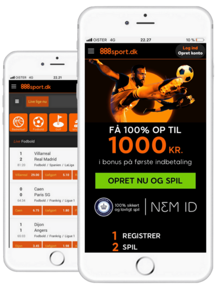 888 Sport betting app