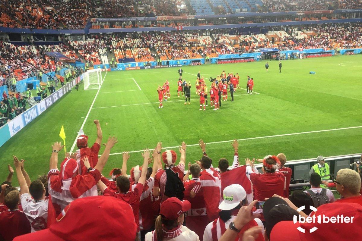 Det danske hold takker danske fans