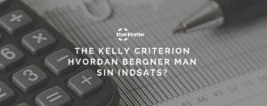 the kelly criterion beregner